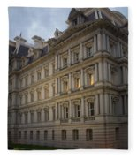Executive Office Building Fleece Blanket