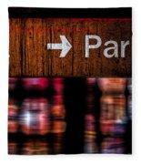 Exit Park Fleece Blanket