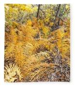 Exotic Plants Of The Dunes Fleece Blanket