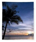 Exotic Sunrise 02 Fleece Blanket