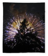 Exploding Tree Fleece Blanket