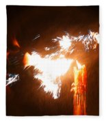 Explosive Candlelight Fleece Blanket