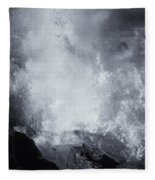 Explosive Sea Fleece Blanket