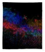 Expressions Of Color Fleece Blanket