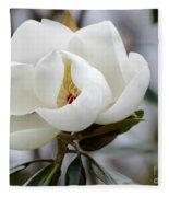 Exquisite Magnolia Fleece Blanket