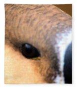 Eye Of The Gander Fleece Blanket