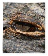 Eye Of The Gator Fleece Blanket