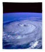 Eye Of The Hurricane Fleece Blanket