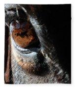 Eyeball Reflection Fleece Blanket