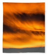 Eyes Of Sauron Fleece Blanket