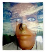 Eyes On The Horizon Fleece Blanket