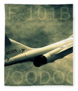 F-101b Voodoo Fleece Blanket