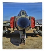 F-4c Phantom II Fleece Blanket