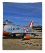 F-86h Sabre Fleece Blanket