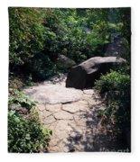 New York's Central Park Fleece Blanket
