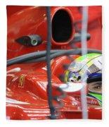 F1 Driver Felipe Massa Fleece Blanket