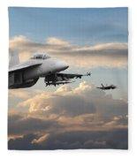 F18 - Super Hornet Fleece Blanket