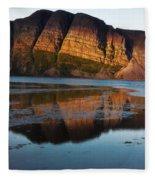 Fabulous Fjord Landscape Of Norway Fleece Blanket