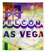Fabulous Las Vegas Fleece Blanket