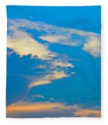 Fading Clouds Fleece Blanket
