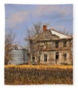 Fading Farm Fleece Blanket