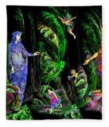 Faery Forest Fleece Blanket