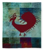 Fafa Bird - 01c01bcr Fleece Blanket