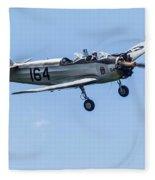 Fairchild Pt-23 Fleece Blanket