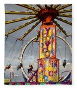 Fairground Fun 4 Fleece Blanket