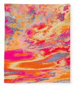 Fairgrounds Sky Fleece Blanket
