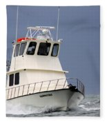 Fairwater II - Parting Waves In The Gulf Of Mexico Fleece Blanket