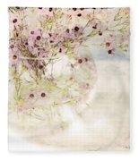 Fairy Bouquet Fleece Blanket