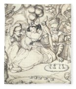 Fairy Concert, C.1830 Fleece Blanket