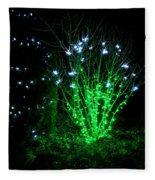 Fairy Light Fleece Blanket