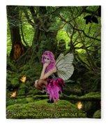 Fairy Princess Fleece Blanket