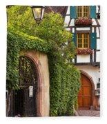 Fairytale Village Fleece Blanket