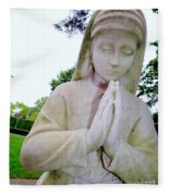 Faithful Fran Fleece Blanket