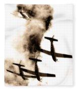Falcon Art Fleece Blanket