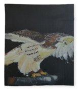 Falconry 5 Fleece Blanket