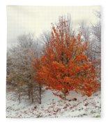 Fall And Winter Fleece Blanket
