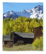 Fall At Ashcroft Fleece Blanket