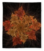 Fall Burst Fleece Blanket