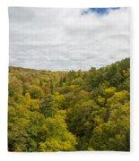 Fall Color Hills Mi 1 Fleece Blanket