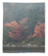 Fall Colors In Acadia National Park Maine Img 6483 Fleece Blanket