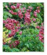 Fall Colors In Florida Fleece Blanket