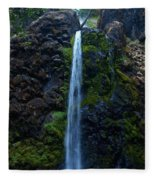 Fall Creek Falls II Fleece Blanket