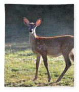 Fall Fawn Fleece Blanket