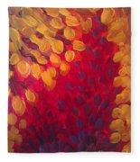 Fall Flurry Fleece Blanket