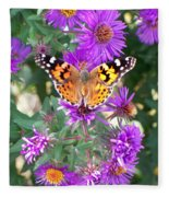 Fall Flutterby Fleece Blanket