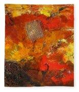 Fall Foliage Fleece Blanket